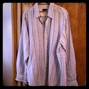 Massimo dutte mens linen dress shirt.